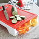 Cutting Board with 2 Food Trays by Sara Cucina