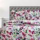 Watercolor Floral Quilt Set