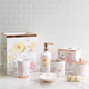 Blush & Blooming Bath Accessories Collection by Kathy Davis