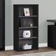 Margot Black and Grey Bookcase