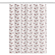 Llama Strut Shower Curtain