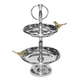 Love Birds Two-Tiered Tray