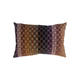Checkers Feather-Filled Cushion