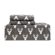 Stag Head Flannel Sheet Set