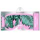 Palm Leaves Slumber Eye Mask and Ear Plug Set