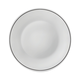 White Moon Decorated Plate Collection by Bormioli Rocco