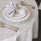 Silver Rings Table Linens