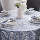 Kashmir Paisley Fabric Table Linens Collection