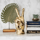 Decorative Gold Hand Sculpture by Torre & Tagus