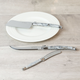 Laguiole Set of 3 Cheese knives with Marble Effect by Jean Dubost
