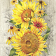 ''Le Tournesol'' Table Napkins