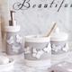 Yara Bath Accessories Collection by Avanti