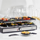 Swiss Gourmet Raclette 19-Piece Set for 8 People by Trudeau