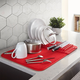 Urdy Red Drying Mat by Umbra