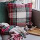 Scottish Plaid Cushion