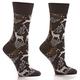 Gold Reindeer Women's Crew Socks by Yo Sox