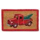 Red Truck with Tree Doormat