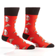 Beer and Pizza Men's Crew Socks by Yo Sox