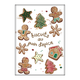 Ricardo Gingerbread Cookies Kitchen Towel