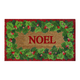 Holly Border Noel Doormat