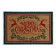 Merry Christmas Reindeer Doormat