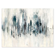 Modern Blue Forest Painting