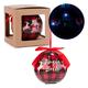 Jingle Bells LED Plaid Ball