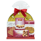 Gold Holiday Plate Gift Basket