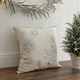 Glam Snowflake Cushion