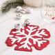 Red Snowflake Table Napkins