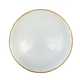 Kendo Charger Plate with Gold Rim
