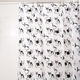 Bulldog Vinyl Shower Curtain