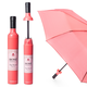 Rosé Wine Bottle Umbrella by Vinrella