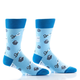 Rock Paper Scissors Men's Crew Socks by Yo Sox