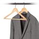 Pack of 5 Wooden Hangers by Neatfreak