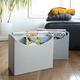 Beige Foldable Storage Bin by Home Essentials