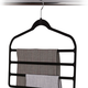 4-Tier Pack of 3 Felt Pant Hangers by Neatfreak