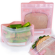Pack of 4 Reusable Snack and Sandwich Bags by Russbe
