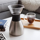 Stainless Thermal Carafe 1L & Pour Over Brewer by Asobu