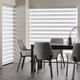 Transition Luxury Roller Shades - White