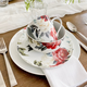 Rose Garden 16-Piece Dinnerware Set