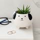 Ceramic Dog Planter