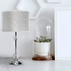 Adalene White Table Lamp