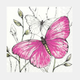 Pink Butterfly Table Napkins