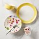 Kate Spade Nolita Blush 4-Piece Dinnerware Set
