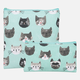 Set of 2 Cats Snack Bags