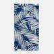 Oceanna Palm Leaf Beach Towel
