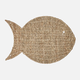 Seagrass Fish Charger Plate by Harman