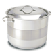 Cuisinox Stock Pot With Cover 11''