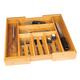 Danesco Bamboo Utensil Drawer Organizer